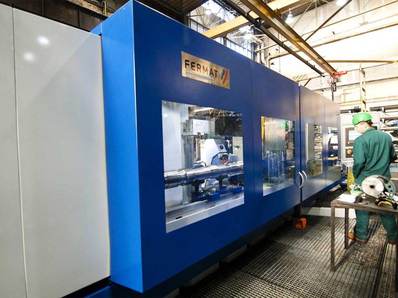 Špičková hrotová bruska BHC společnosti FERMAT Machine Tool vyrobená pro společnost BONATRANS GROUP - 1