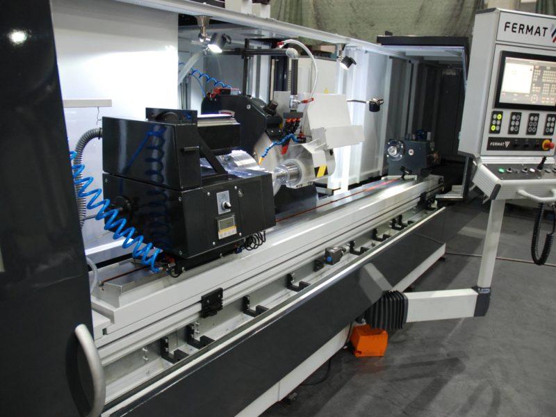 Detail obráběcího stroje (brusky) BUB E CNC - FERMAT Machine Tool