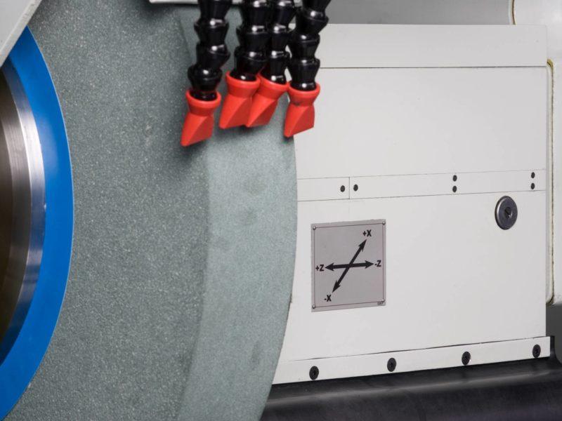Detail kotouče obráběcího CNC stroje (brusky) BUC E - FERMAT Machine Tool
