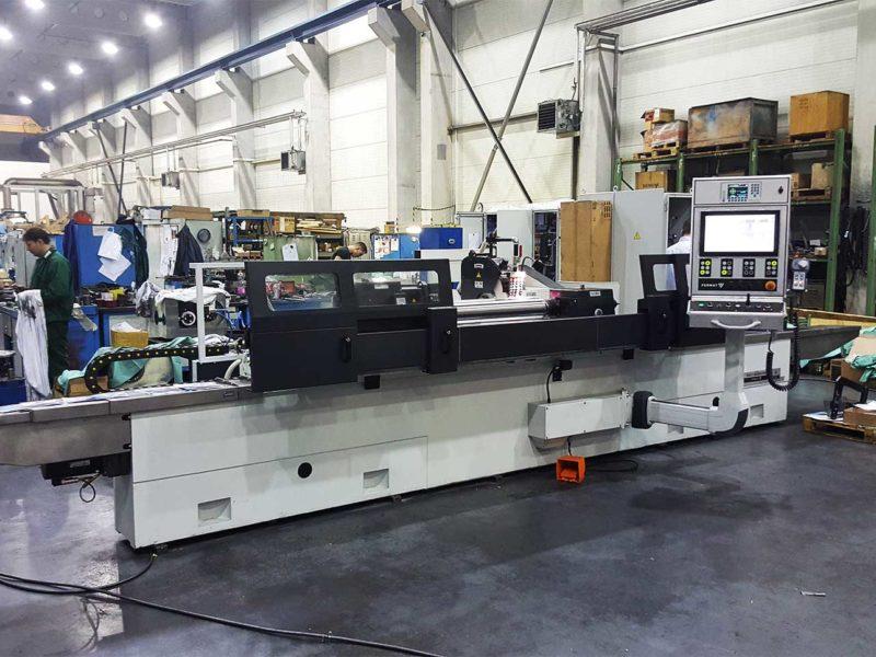 Univerzální hrotová bruska BUB E CNC společnosti FERMAT Machine Tool vyrobená pro firmu Benteler 1