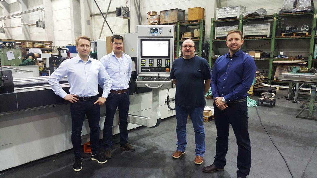 Univerzální hrotová bruska BUB E CNC společnosti FERMAT Machine Tool vyrobená pro firmu Benteler 2