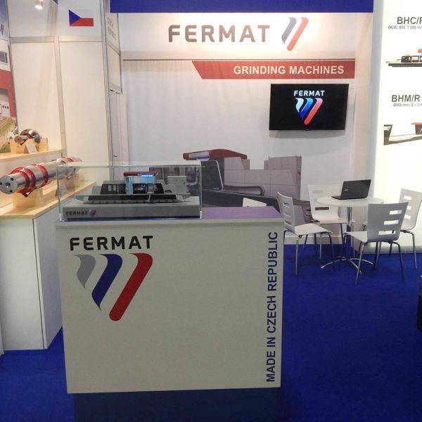 Veletrh EMO 2015, stanek společnosti FERMAT Machine Tool - Itálie - 2