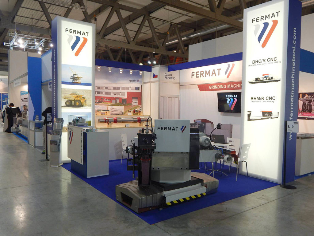 EMO exhibition 2015 stand of FERMAT Machine Tool - Italy - 1