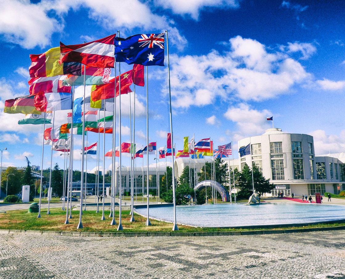 MSV | IMT 2016 - Flaggen Länder ausstellen - 58th edition - FERMAT Machine Tool