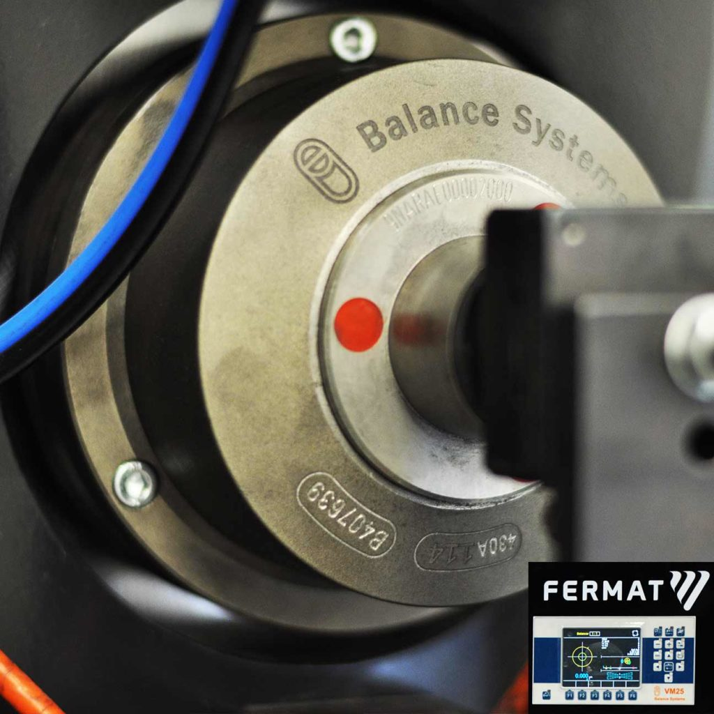 Automatic balancing for grinding machines | FERMAT Machine Tool